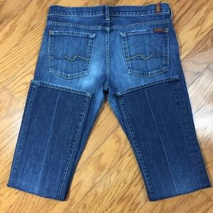 7 for All Mankind Boot Cut Denim Jeans Size 32